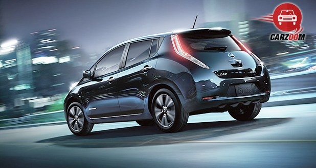 Nissan Leaf Back and Side View