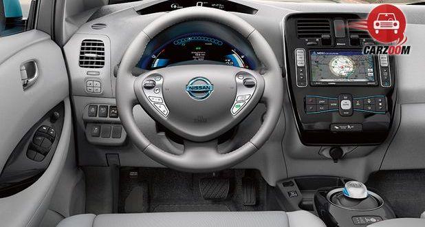 Nissan Leaf Interior Dashboard View