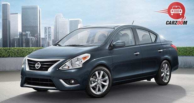 Nissan Versa Front and Side View