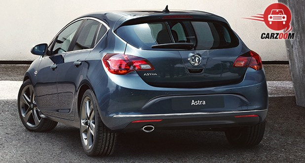 Vauxhall Astra Exterior Back View