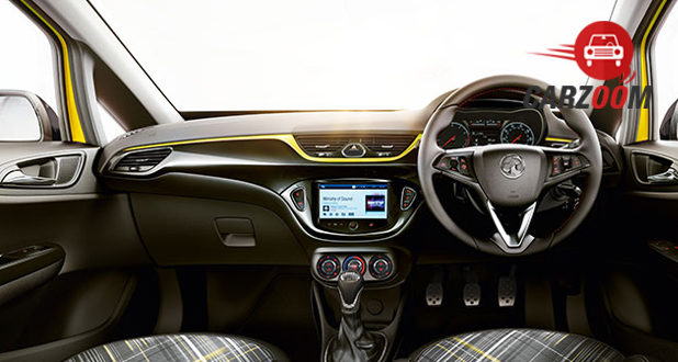 Vauxhall Corsa Interior Seat View