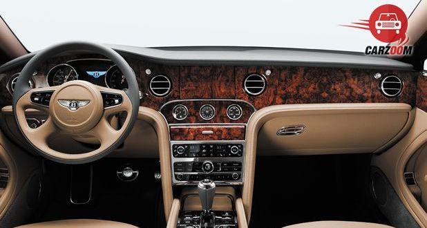 Bentley Mulsanne Interior Dashboard View