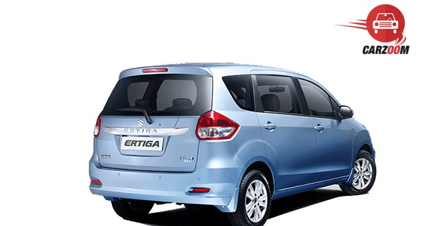 Maruti Suzuki Ertiga Facelift Back and Side View