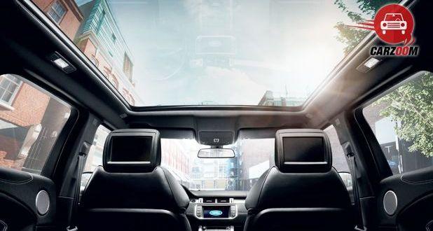 Land Rover Range Rover Evoque Facelift Interior View