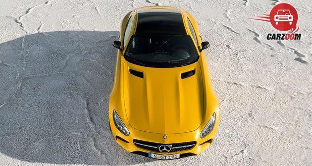 Mercedes-Benz AMG GT S Exterior Top View
