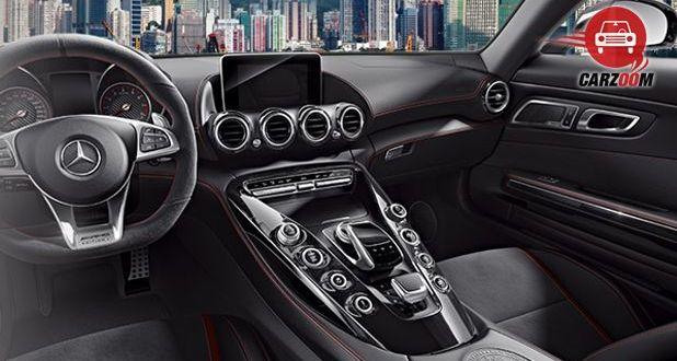 Mercedes-Benz AMG GT S Interior Dashboard View