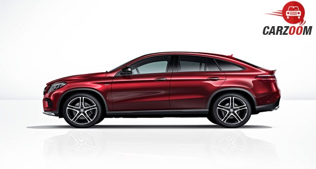 Mercedes-Benz GLE Class 450 AMG Coupe Side View