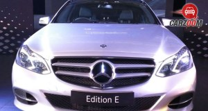 Mercedes-Benz E-Class 'Edition E' Front