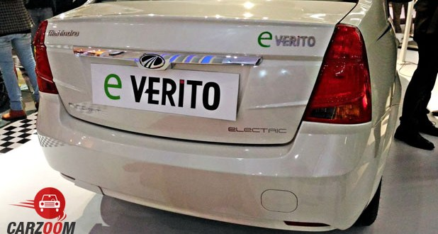 Mahindra E-Verito Back