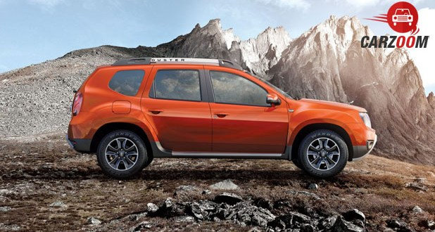 New Renault Duster Side View