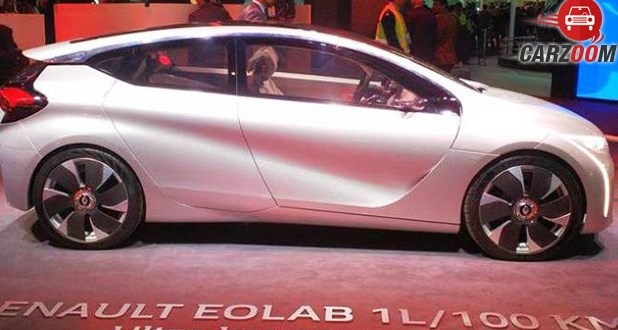 Renault Eolab Concept Side View