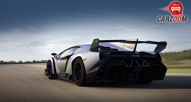Lamborghini Veneno Back