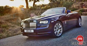 Rolls-Royce Dawn Front View