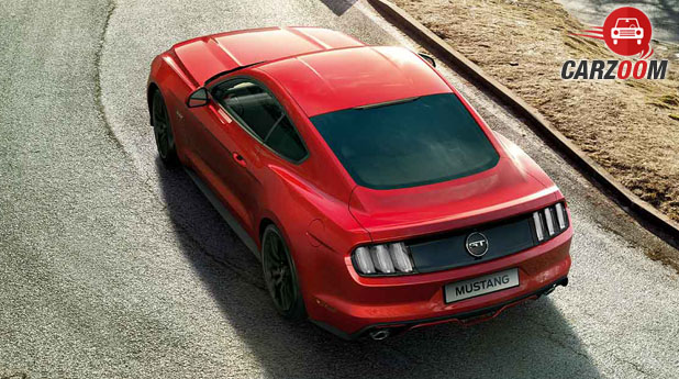 Ford Mustang Back View