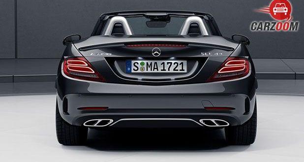 Mercedes-Benz AMG SLC Back View