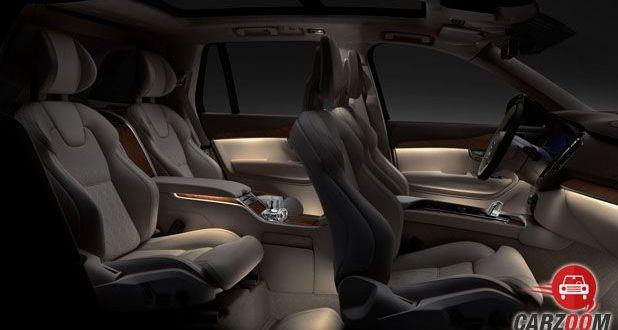Volvo XC90 Excellence Seats