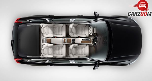 Volvo XC90 Excellence Upper View