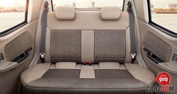 Mahindra e2o Plus Seats