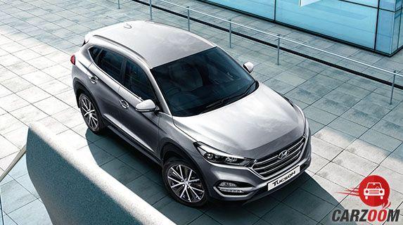 Hyundai Tucson Upper View