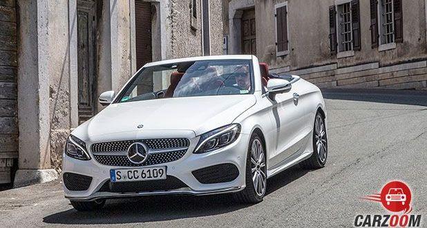 Mercedes-Benz C-Class Cabriolet C 300 Front View