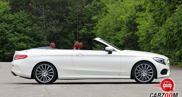Mercedes-Benz C-Class Cabriolet C 300 Side View