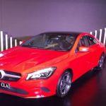 Mercedes-Benz CLA Facelift Front