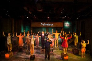 NextStop Theatre's production of Urinetown that Savage house managed and ushered.