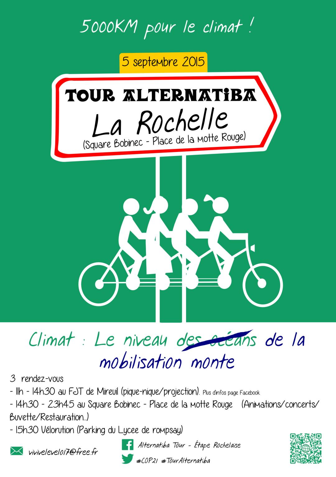 Étape Rochelaise ALTERNATIBA