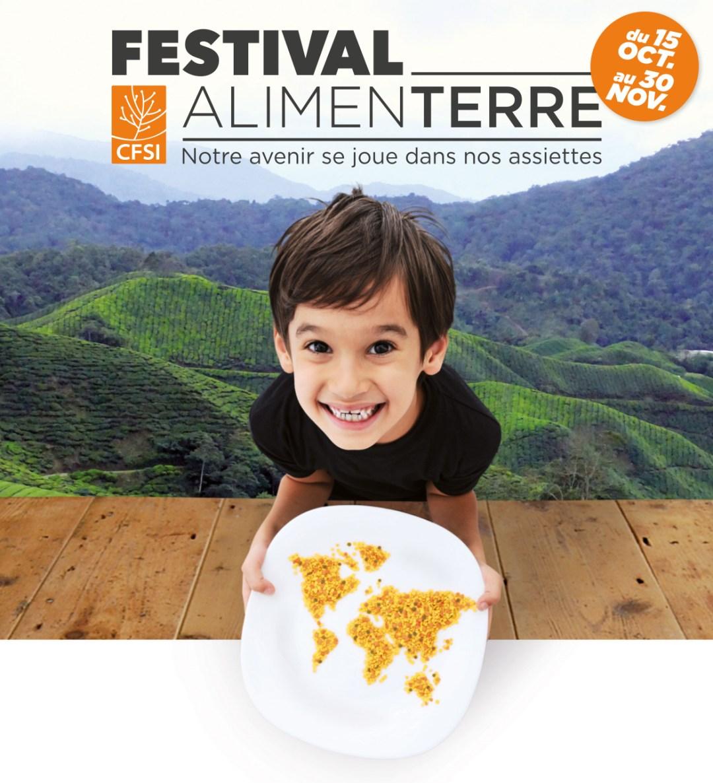Affiche Festival Alimenterre