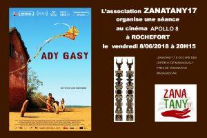 Soirée Cinéma Ady Gasy sur Madagascar @ Cinéma Apollo 8 | Rochefort | Nouvelle-Aquitaine | France
