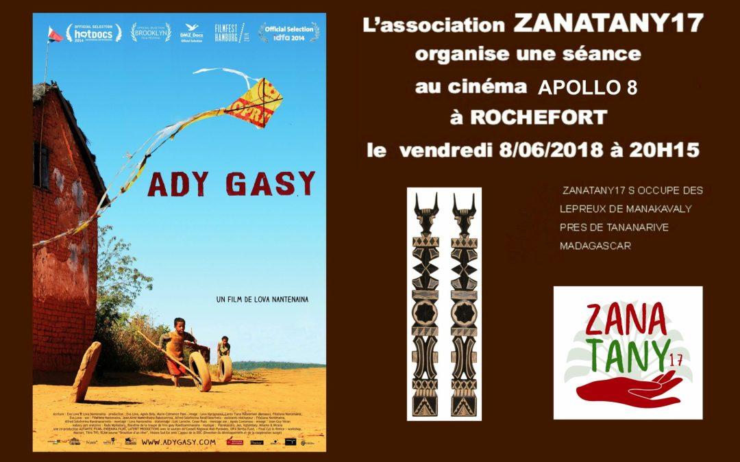 Soirée Cinéma Ady Gasy sur Madagascar