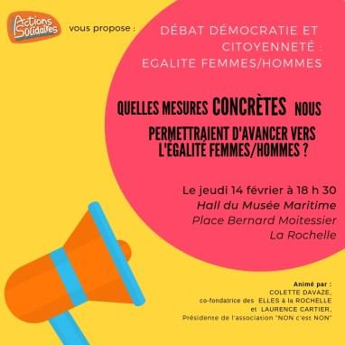 Débat Citoyen : 12 Propositions concrètes sur l'égalité Femmes-Hommes