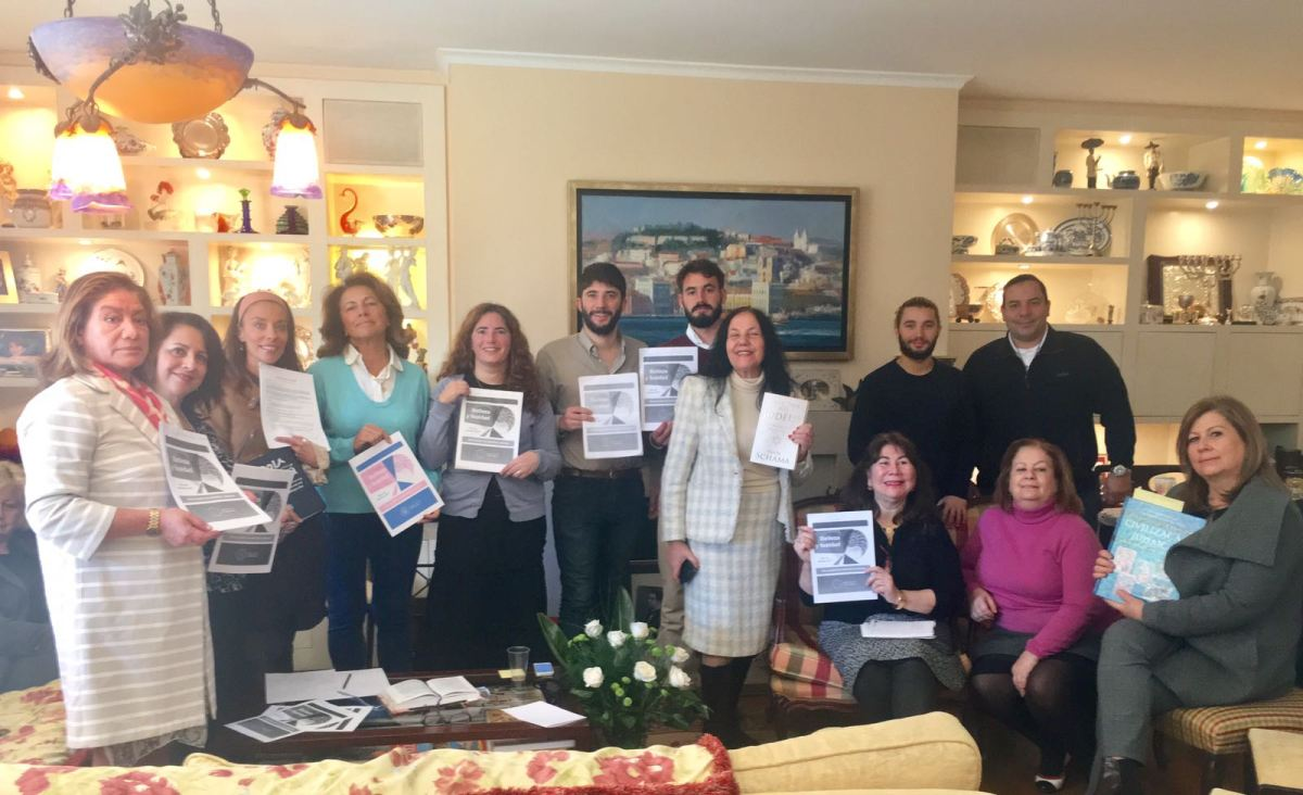 Los estudiantes de Rabino Elisha se unieron al Día Mundial de Estudios Judaicos