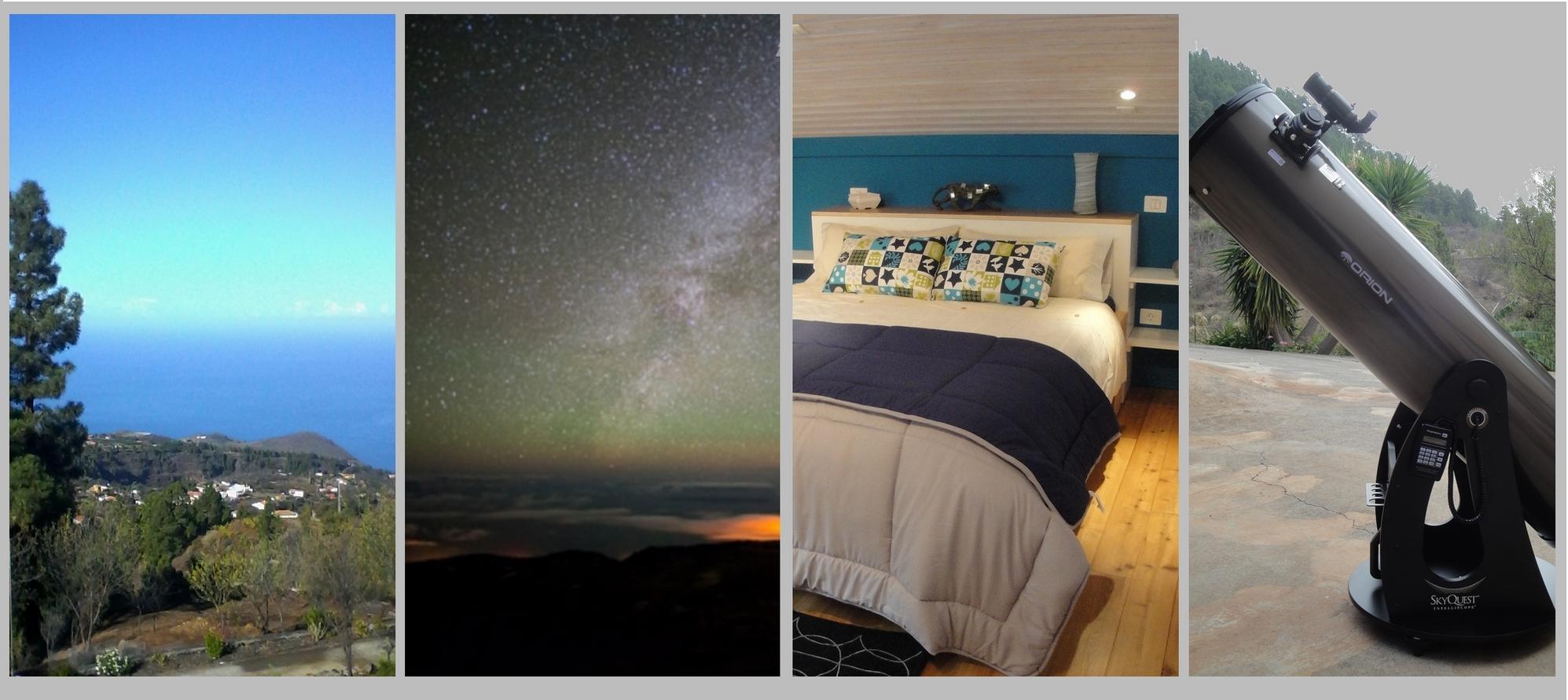 Réservez votre hébergement et votre matériel d'observation astronomique