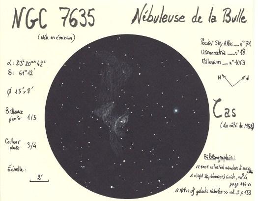 Bubble nebula drawing