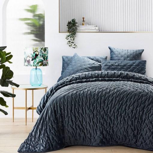 βελουδινο-παπλωμα-υπερδιπλο-220×240-luxury-velvet-anthracite-grey