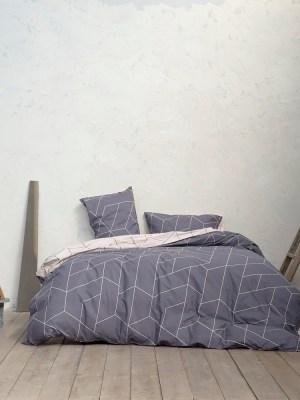 Σεντόνια Σετ Διπλά 200x260 NIMA Parity Gray