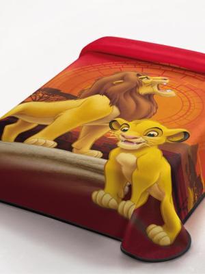 Κουβέρτα DISNEY 160x220 Lion 345