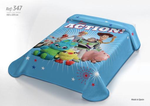 Κουβέρτα DISNEY 160x220 Toys 347