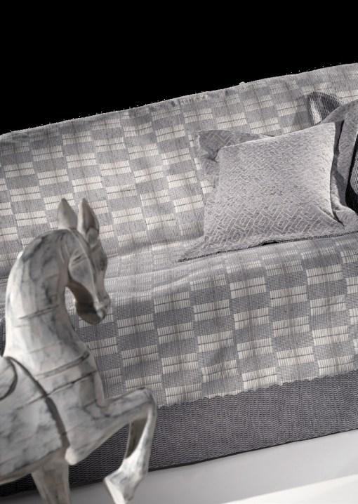 Ριχτάρι Καναπέ Σετ 2 τεμαχίων GUY LAROCHE Modest Silver