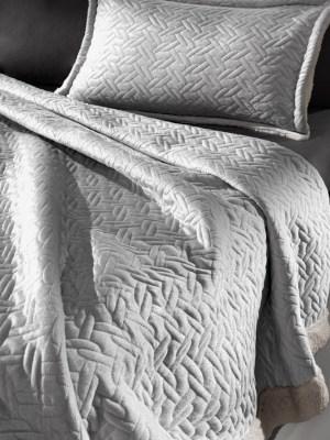 Κουβέρτα Υπέρδιπλη 220x240 Guy Laroche Ristretto Silver