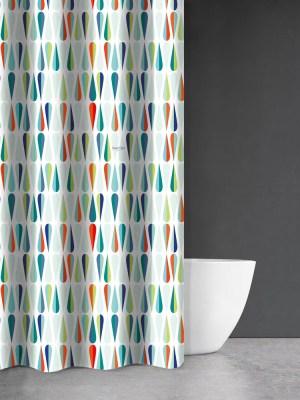 Κουρτίνα Μπάνιου 180x200 Saint Clair Abstract Des 112