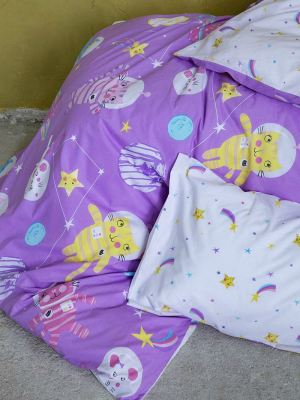 Σεντόνια Παιδικά Σετ NIMA Cosmic Kittens