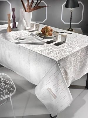 Τραπεζομάντηλο 160x250 +12 Πετσέτες Guy Laroche Vector Linen