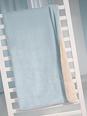Κουβέρτα Μονή Βελούδινη 160x220 SAINT CLAIR Tresor Sky