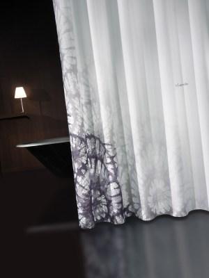 Κουρτίνα Μπάνιου 240x190 GUY LAROCHE Theatro Grey Black