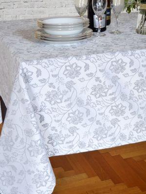 Τραπεζομάντηλο Jacquard 140x220 ILIS HOME Μπολόνια Grey