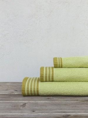 Πετσέτες Σετ 3 τεμαχίων NIMA Siren Lime Green