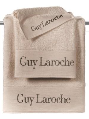 Guy Laroche Πετσέτες Σετ 3 τεμαχίων Futura Natural
