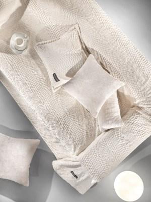 Guy Laroche Ριχτάρι Γούνινο Σετ 2 Τεμαχίων 170x250 ( Διθέσιος ) Crusty Ivory